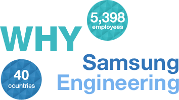 Why Samsung Engineering 5000 employees 40 countries