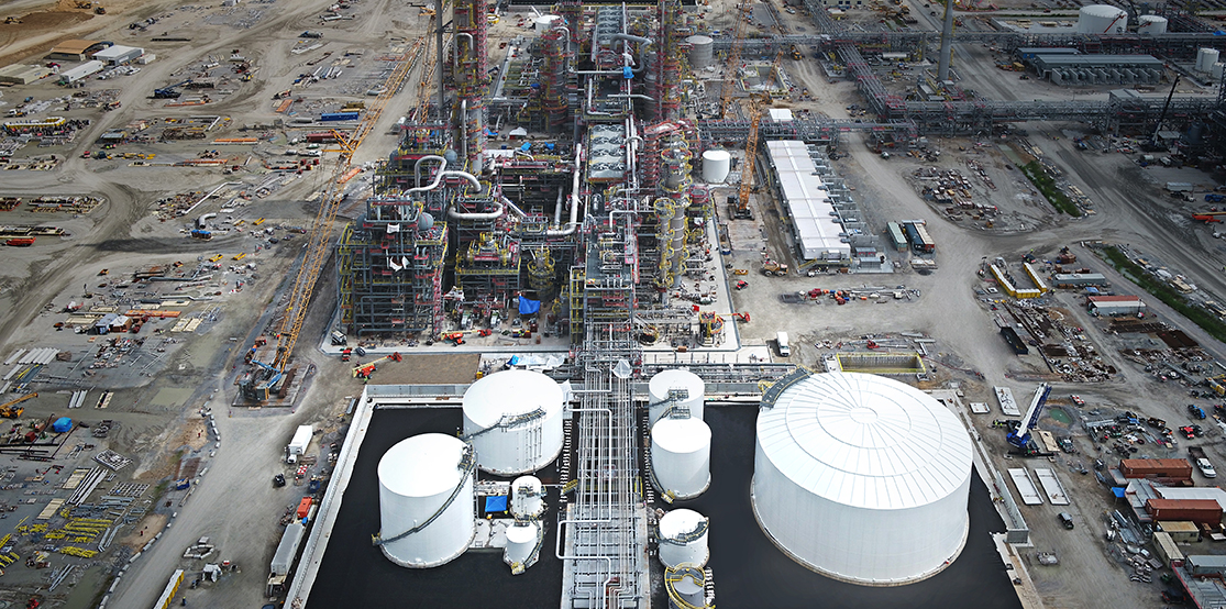 Lotte Chemical MEG-1 Project
